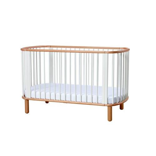 Babybed hout-wit – Flexa Baby