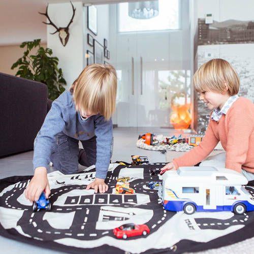 Opbergzak/speeltapijt autobaan – Play&Go
