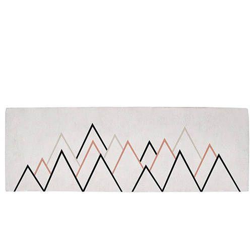 Tapijt driehoeken roze – Lilipinso