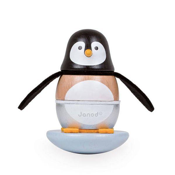 Stapel tuimelaar pinguïn – Janod