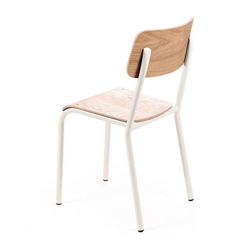 Kinderstoel wit – Declercq mobilier