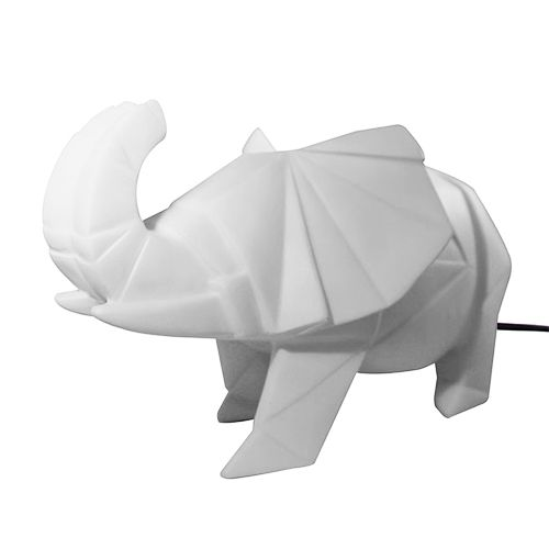 Elephant lamp grijs – House of disaster