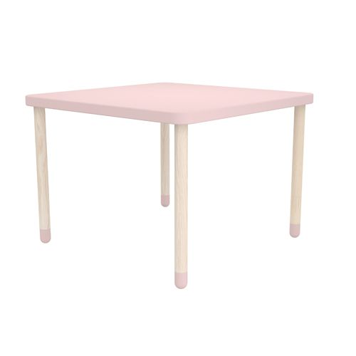 Kindertafel vierkant roze – Flexa Play