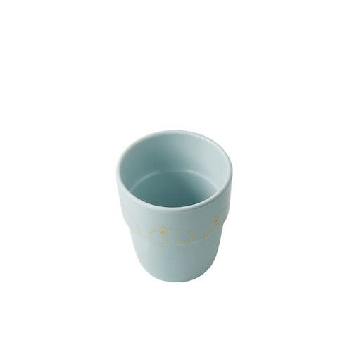 Beker Yummy goud/blauw – Done by Deer