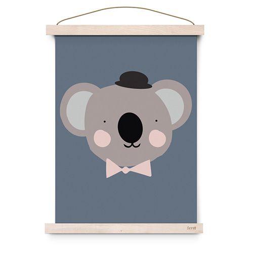 Poster sir koala - Eef Lillemor