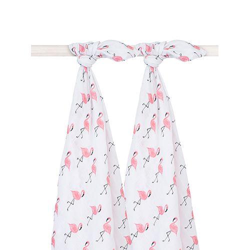 Hydrofiele multidoeken flamingo - Jollein