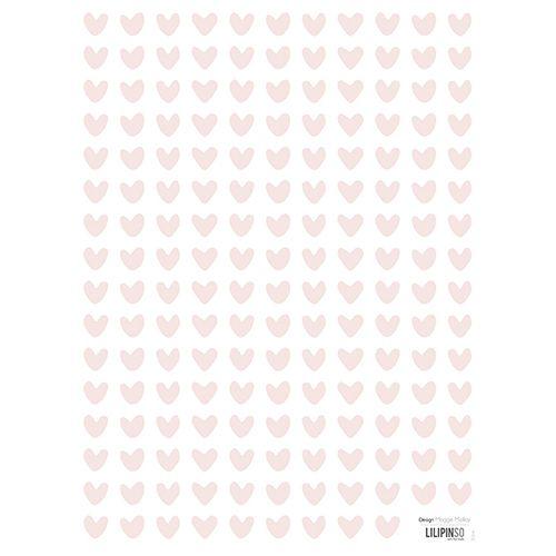 Muurstickers hartjes roze - Lilipinso