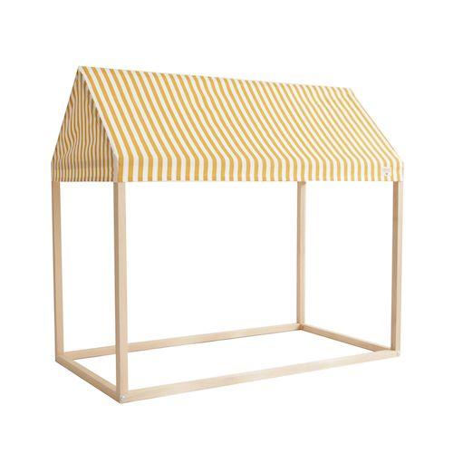 Speelhuis ibiza home stripes geel - Nobodinoz