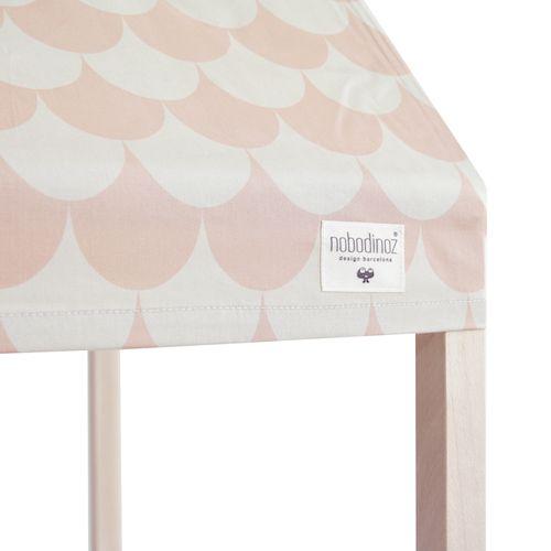 Speelhuis ibiza home scales roze - Nobodinoz