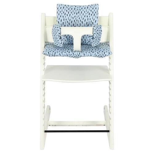 Hoes stoelverkleiner TrippTrapp Blue Meadow - Trixie baby