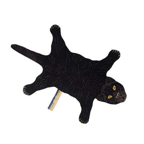 Tapijt Fiery Black Panther S - Doing Goods