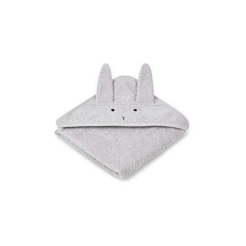 Baby badcape Albert Konijn Dumbo grijs - Liewood