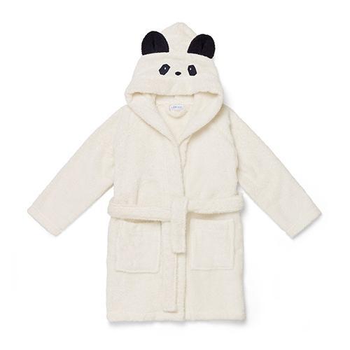 Badjas Lily Panda creme de la creme 1-2 jaar - Liewood