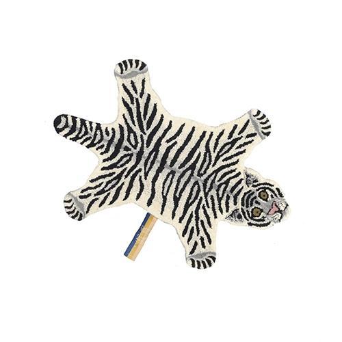 Tapijt Snowy Tiger S - Doing Goods