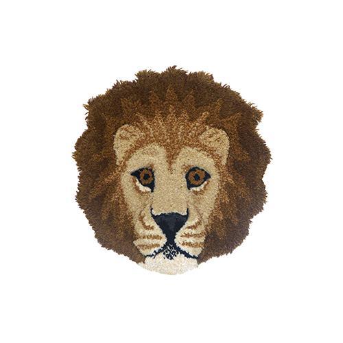 Tapijt Moody lion kop - Doing Goods