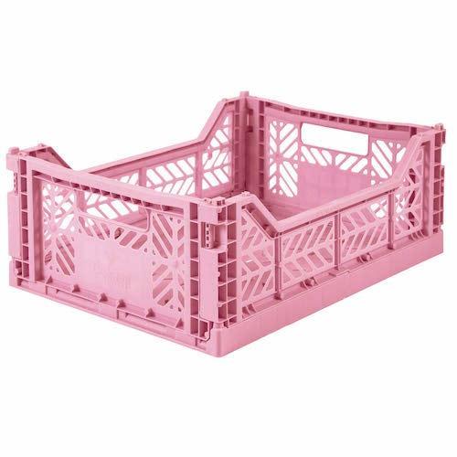 Plooibox midi baby pink - Ay-kasa