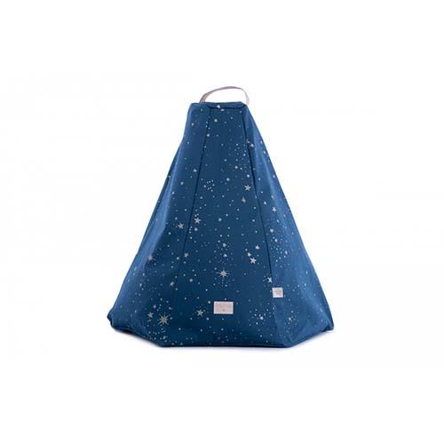 Zitzak Marrakesh Gold Stella / Night blue - Nobodinoz