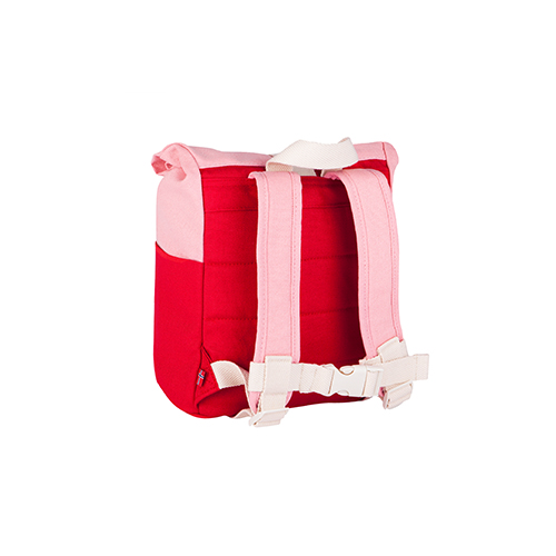 Rugzak roll top 7L red/pink - Blafre