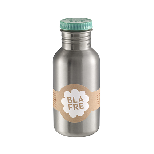 Drinkfles steel blue 500ml - Blafre