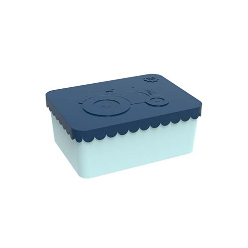 Lunchbox tractor dark blue - Blafre