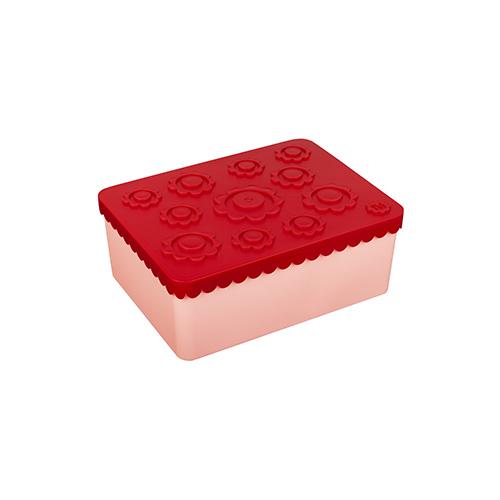 Lunchbox bloemetjes red + pink - Blafre