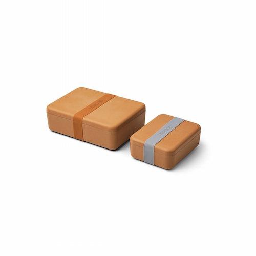 Bradley Lunchbox set Mustard - Liewood