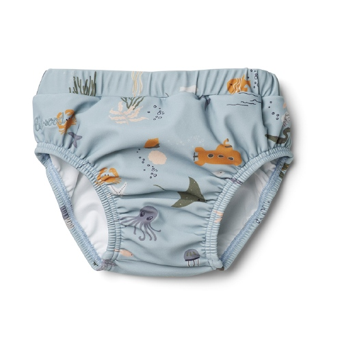 Zwembroekje Frej Baby Boy - Sea creature mix - Liewood