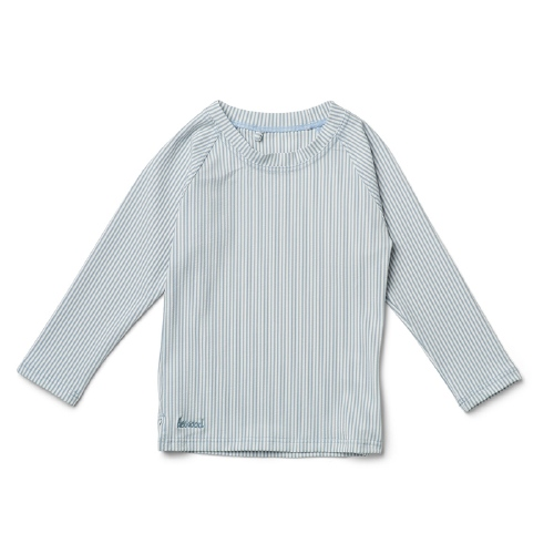 Zwemshirt Noah - Stripe Sea blue/white - Liewood