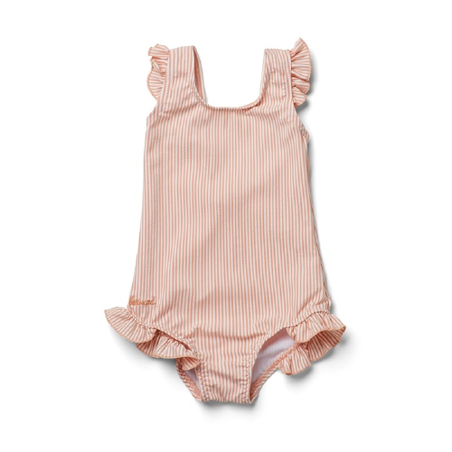 Badpak Tanna - Stripe Coral blush/creme de la creme - Liewood