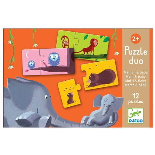 Duo Puzzel Baby & Mama - Djeco