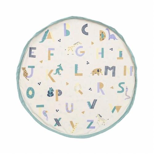 Opbergzak/speeltapijt Animal alphabet - Play&Go