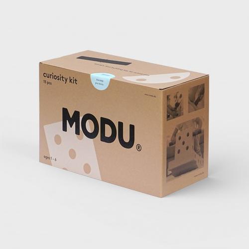 Curiosity kit blauw - MODU