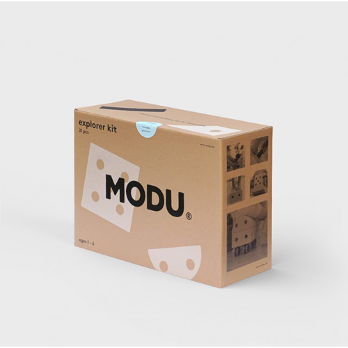 Explorer kit blauw - MODU