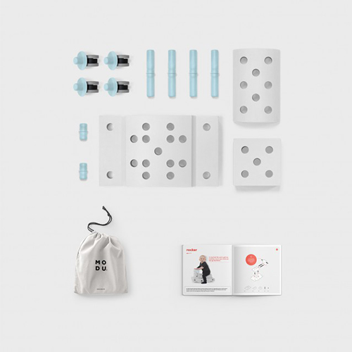 Curiosity kit blauw - MODU