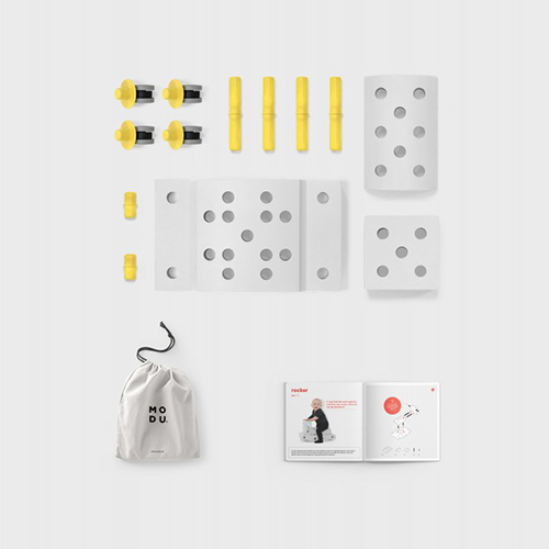 Curiosity kit geel - MODU