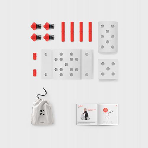 Curiosity kit rood - Modu