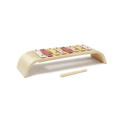 Houten xylofoon roze - Kid's Concept