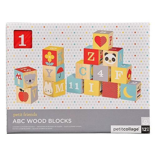 ABC houten blokken - Petit Collage