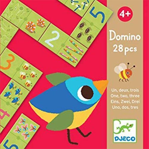 Domino puzzel 123 - Djeco