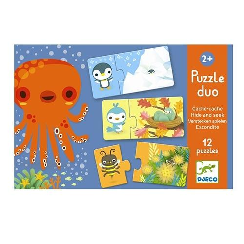 Duo Puzzel Hide & Seek - Djeco