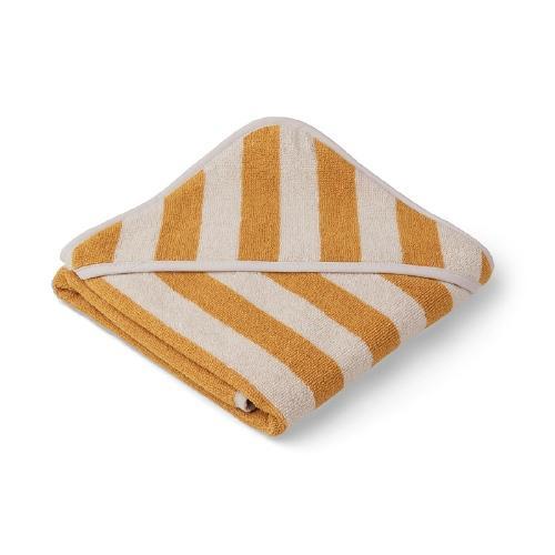 Poncho baby Alba Stripe Yellow mellow/Sandy - Liewood