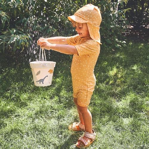 Zwemjumpsuit Max - Confetti yellow mellow - Liewood