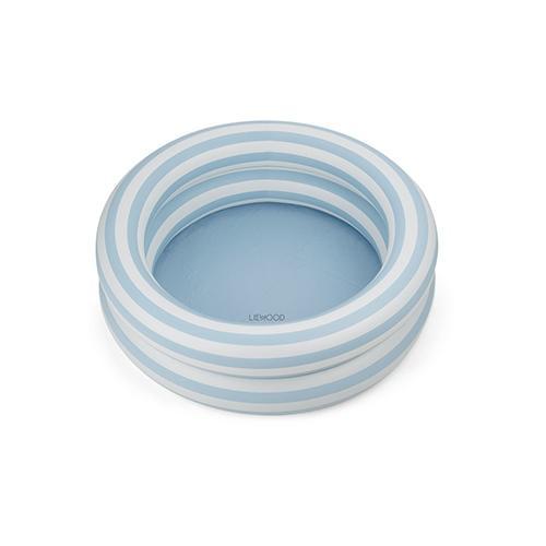 Zwembad Leonore - Stripe Sea blue/creme de la creme