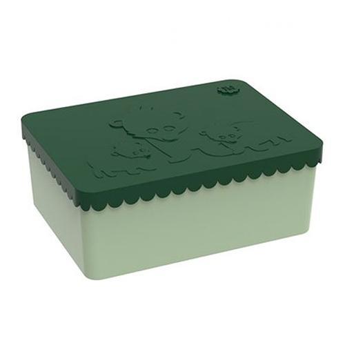 Lunchbox bear dark green - Blafre