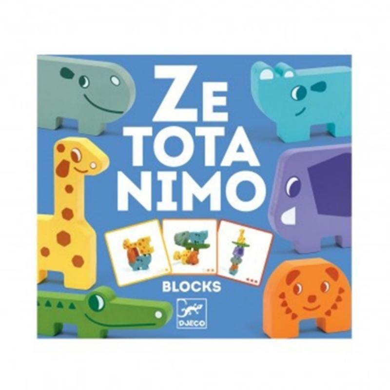 Houten balanceerspel Ze Totanimo - Djeco