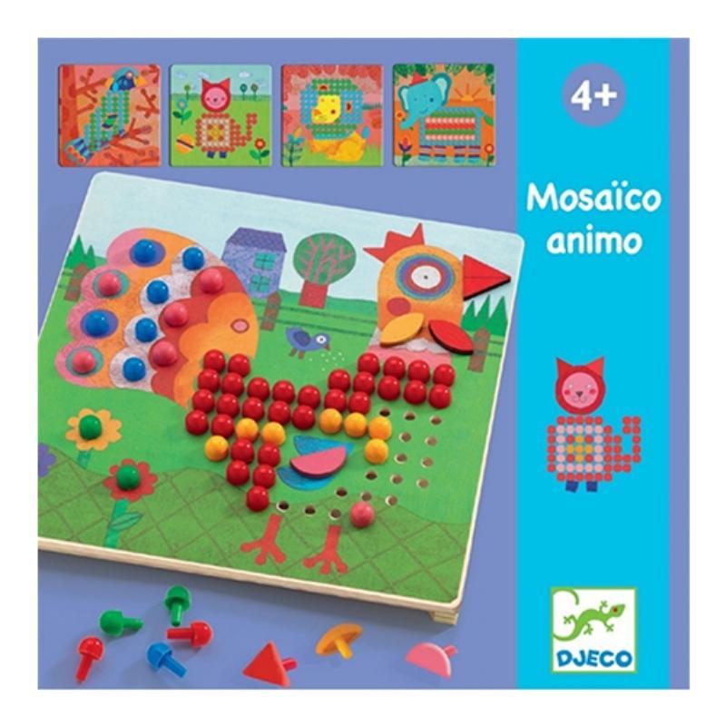 Mozaiekpuzzel dieren - Djeco
