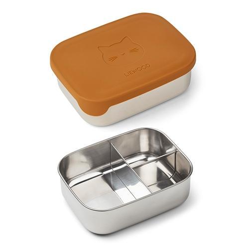 Arthur Lunchbox Cat mustard - Liewood