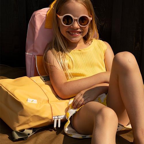 Rugzakje Small freckles | Retro yellow - Sticky Lemon