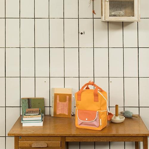 Rugzakje Small wanderer | Sunny Yellow - Sticky Lemon