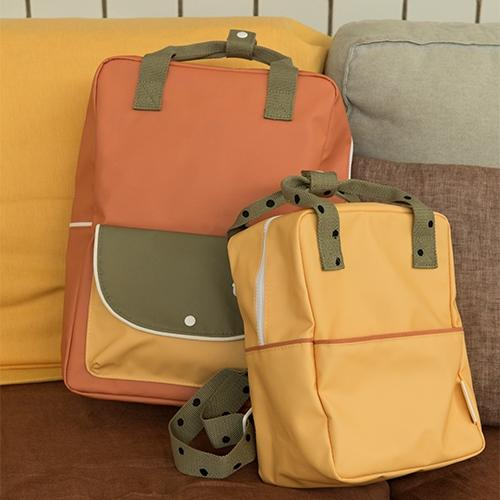 Rugzak Large wanderer | Faded orange - Sticky Lemon